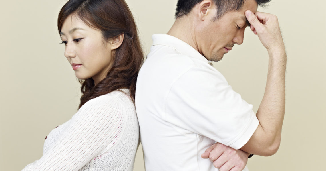 離婚を急ぐ妻